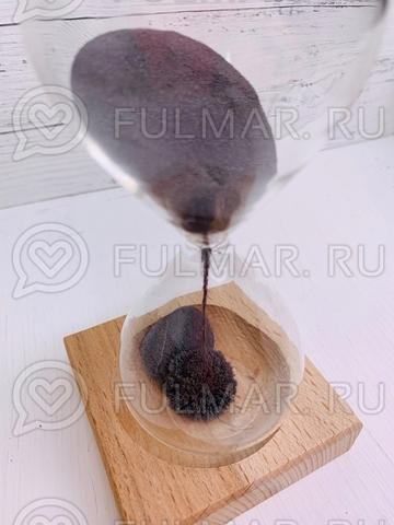 Часы песочные с магнитом Завораживающие (средние 15.5х9 см)