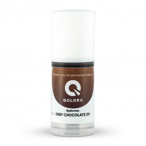 Пигмент Qolora Deep Chocolate 211