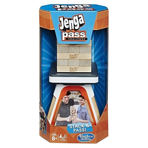 Hasbro: Настольная игра Дженга Челлендж E0585 — Jenga Pass Challenge Action Game — Хасбро Геймс Игры