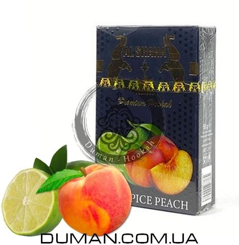 Табак Al Shaha Lime Spice Peach (Эль Шаха Лайм Пряный Персик)
