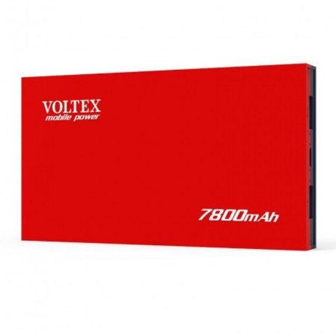 Power Bank Voltex VPBF-230.21 2xUSB 7800mAh soft touch red