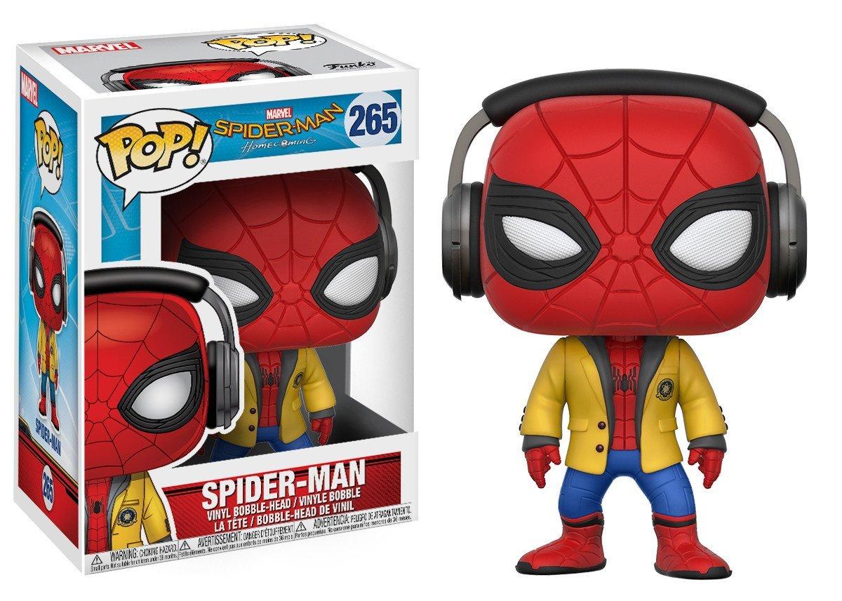 Фигурка Funko POP! Bobble: Spider-Man Homecoming: Spider-Man w/ Headphones 21660