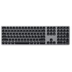 Беспроводная клавиатура Satechi Aluminum Bluetooth Wireless Keyboard with Numeric Keypad серый космос