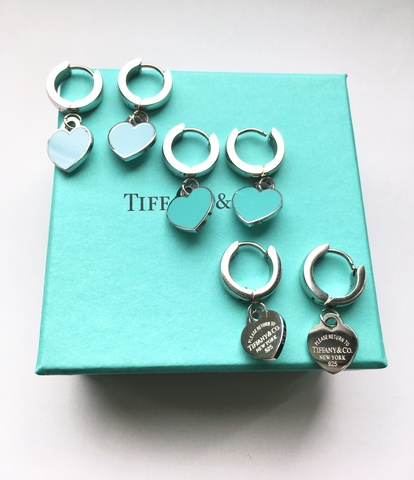 Серьги Tiffany&Co