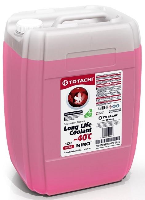 NIRO™ LONG LIFE COOLANT RED -40 C TOTACHI Антифриз красный (10 Литров)