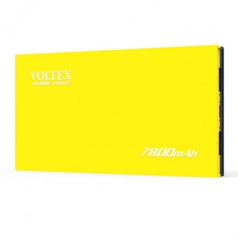 Power Bank Voltex VPBF-230.21 2xUSB 7800mAh soft touch yellow