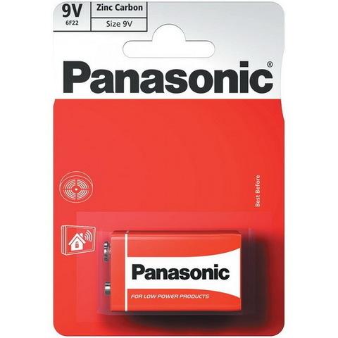 Батарейки Panasonic Special 6F22, крона 9V (1/12) BL