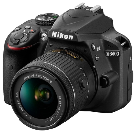 Nikon D3400 Kit 18-55mm VR AF-P Black
