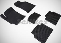 """Резиновые коврики """"Сетка"""" для Hyundai Elantra XD (ТагАЗ)"""