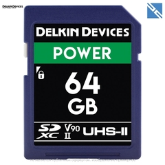 Карта памяти Delkin Devices 64GB SDXC Power UHS-II 2000x