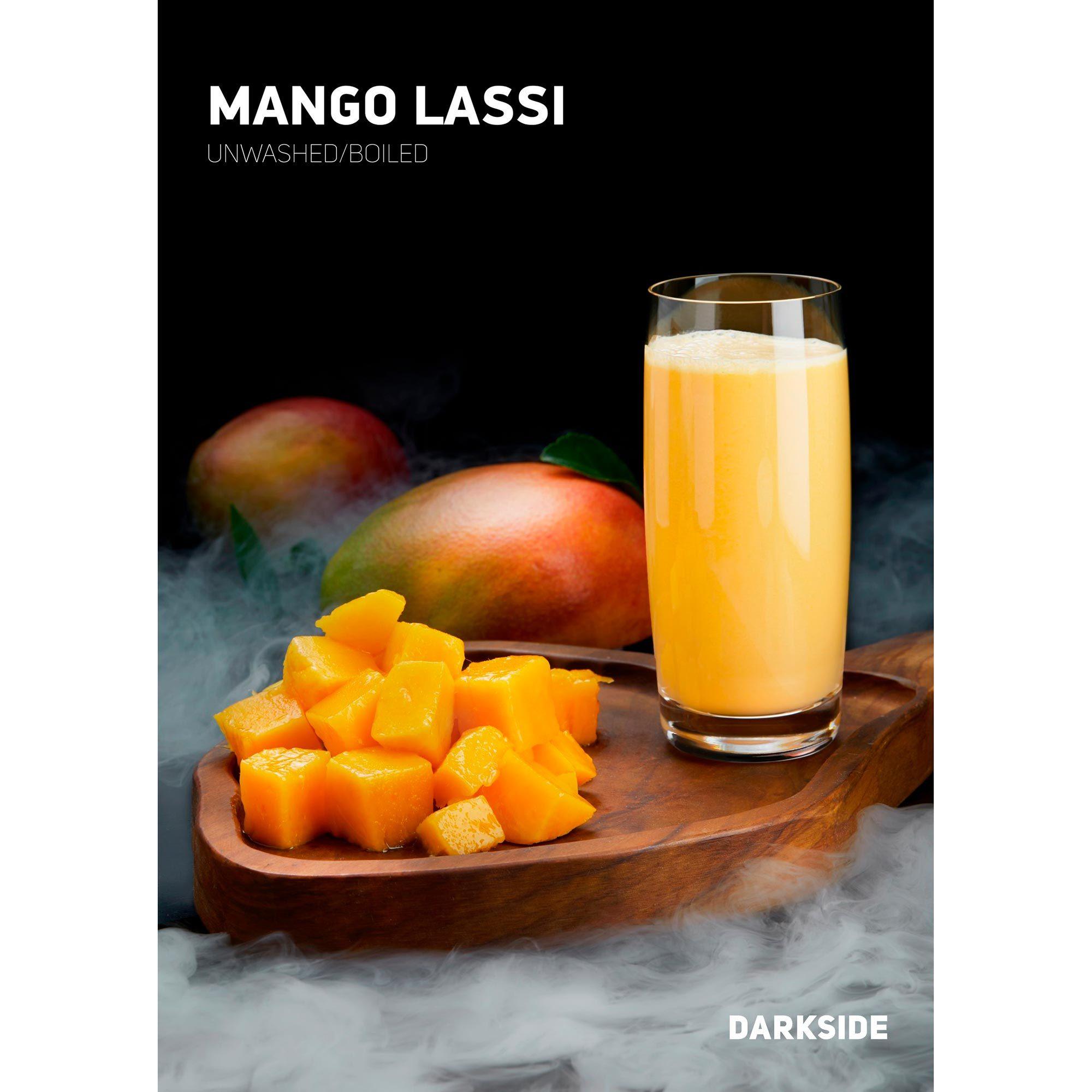 Табак для кальяна Dark Side Core Mango Lassi, магазин FOHM