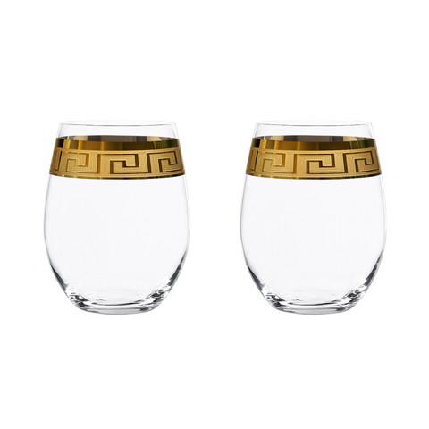 Набор из 2 хрустальных стаканов Muse, 370 мл