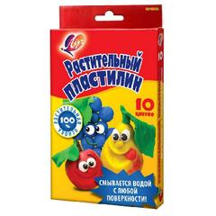 Пластилин растительный Кроха Луч 10 цв. 160 гр., 25С 1556-08