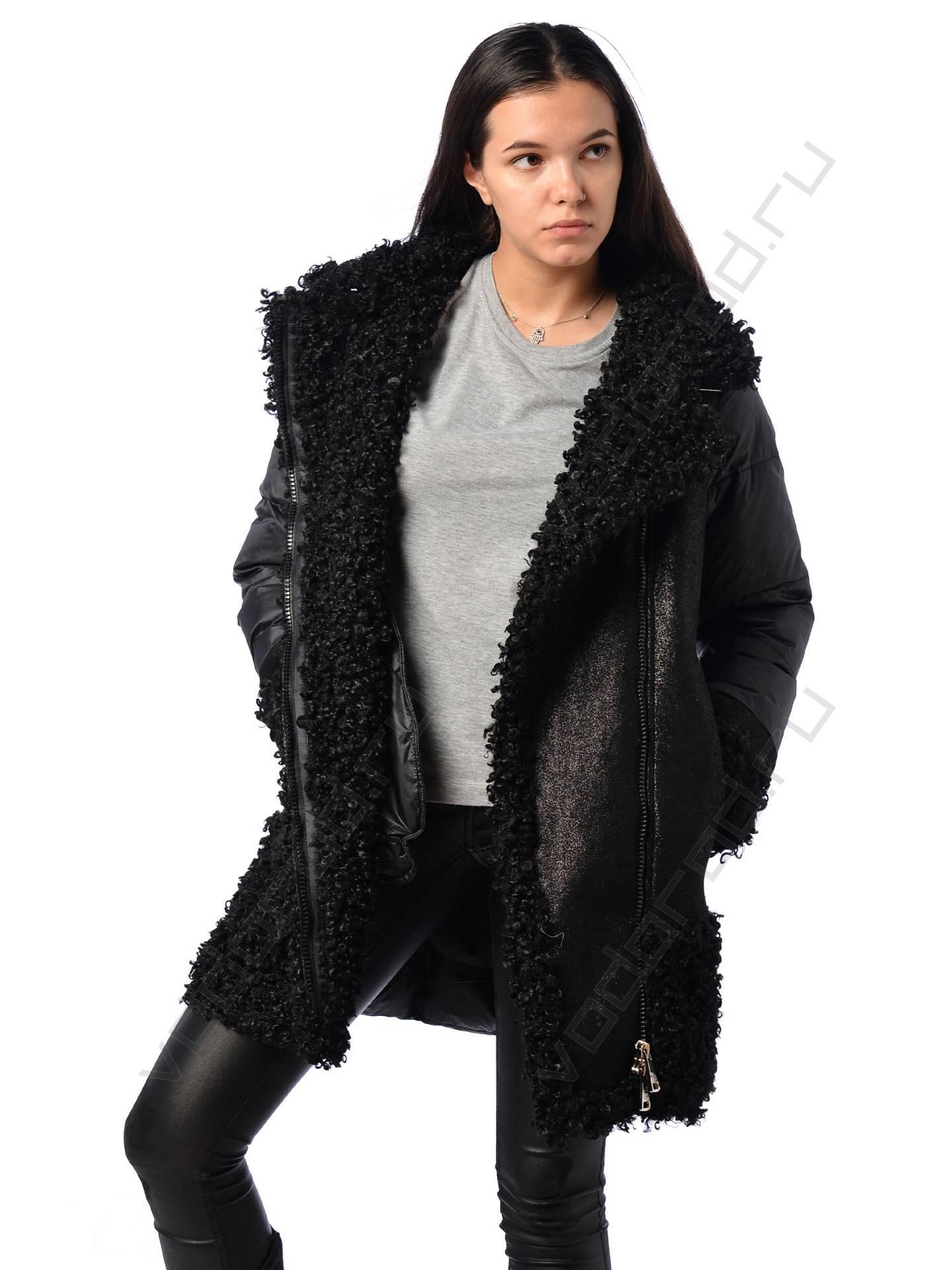 Куртка зимняя EVACANA 21713 (черная)