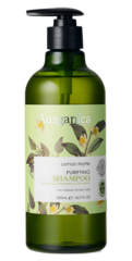 """Очищающий шампунь для жирных волос """"Лимонный Мирт"""", Ausganica"""