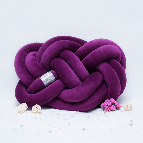 "Декоративная узловая подушка ""Cosmic"", артикул 1600001180443, производитель - Nice Pillow"