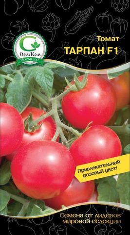 Семена Томат Тарпан F1 (Nunhems) розовый, 10 сем