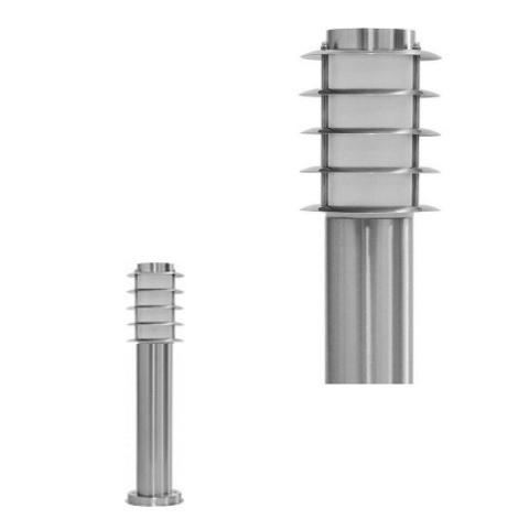 Садово-парковый светильник FERON DH027-450 18W 230V E27 серебро