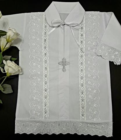 Крестильная рубашка  Линия