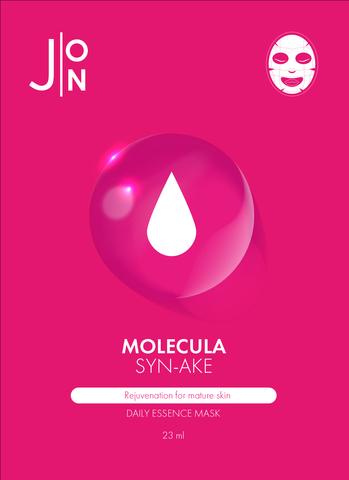 Тканевая маска для лица ЗМЕИНЫЙ ПЕПТИД J:ON Molecula Syn-Ake Daily Essence Mask