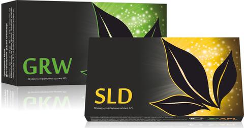 APL. Аккумулированные драже APLGO GRW+SLD для оздоровления суставов, восстановления энергетики