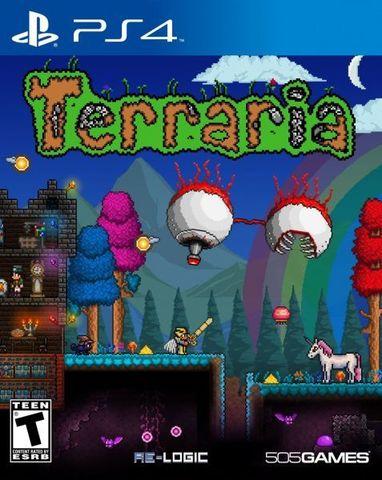 PS4 Terraria – PlayStation 4 Edition (английская версия)