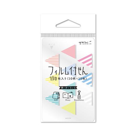 Стикеры Midori Sticky Paper Film Mini - Sankaku-gara