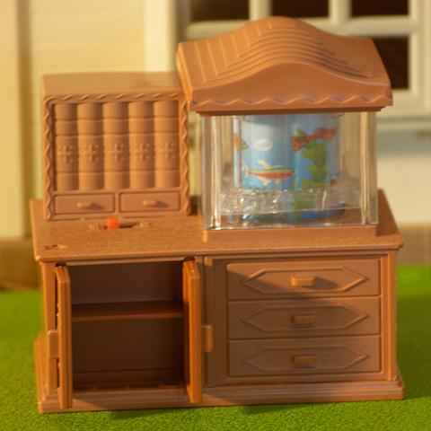 Тумба с аквариумом Happy family 012-10B