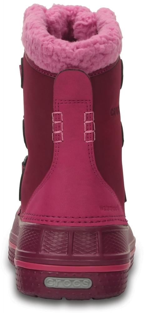 Зимние ботинки для девочек Crocs Kids' AllCast II Boot K Berry