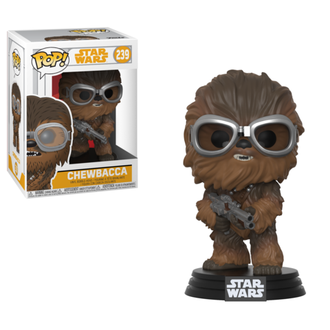 Фигурка Funko POP! Bobble: Star Wars: Solo: Chewbacca w/ Goggles POP 4 26975