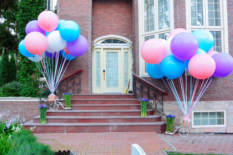 Большой шар с гелием 90 см. Выбор цвета (фото 2)