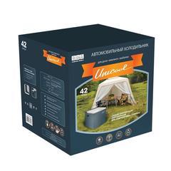 Купить термоэлектрический автохолодильник 12в и 220в Camping World Unicool DeLuxe 42 L (12V/220V+газ)
