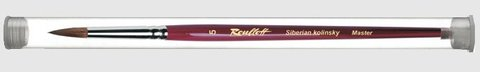 Кисть  Roubloff Колонок круглая 2 туба никель серия 301Т