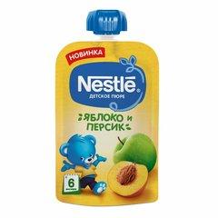 """Пюре """"Nestle"""" Яблоко Персик пауч 90 г"""