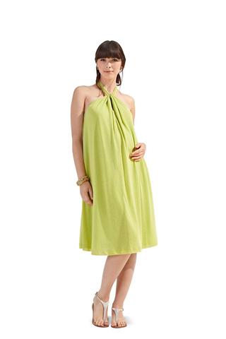 Выкройка Burda (Бурда) 7106 — Платье для будущей мамы