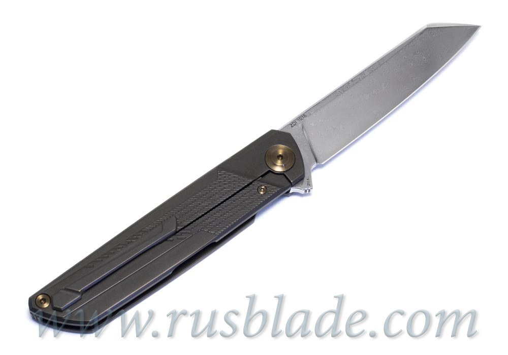 Cheburkov Dragon Damascus Knife Limited