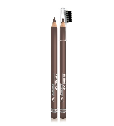 LuxVisage Eyebrow pencil Карандаш для бровей тон 102 шатен
