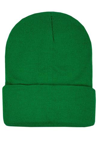 Шапка зеленая фото
