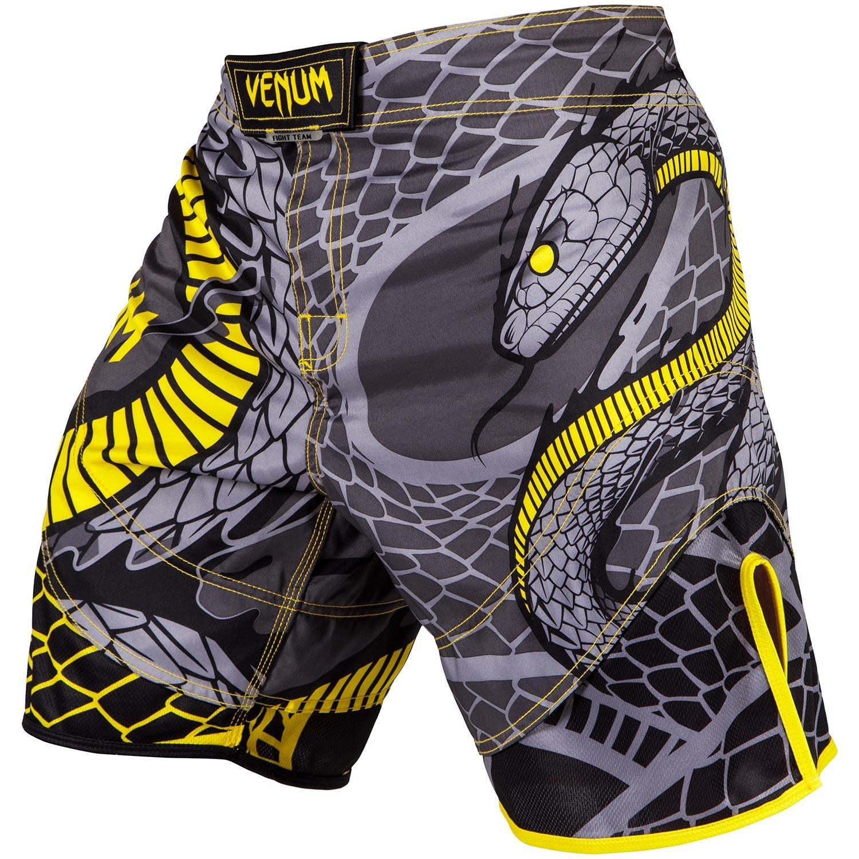 Шорты Шорты Venum Snaker Fightshorts Black/Yellow 1.jpg
