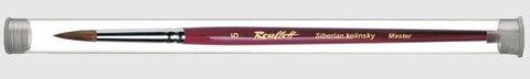 Кисть  Roubloff Колонок круглая 4 туба никель серия 301Т