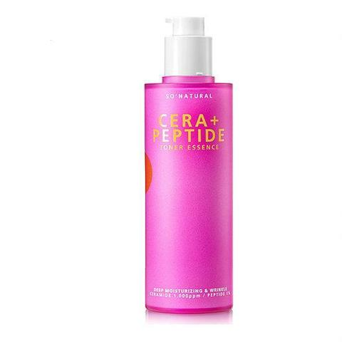 Тонер-эссенция SO NATURAL CERA PLUS PEPTIDE TONER ESSENCE 120 мл