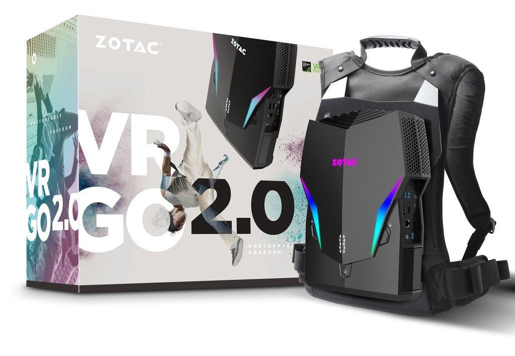 Ноутбук Zotac VR GO 2 для виртуальной реальности
