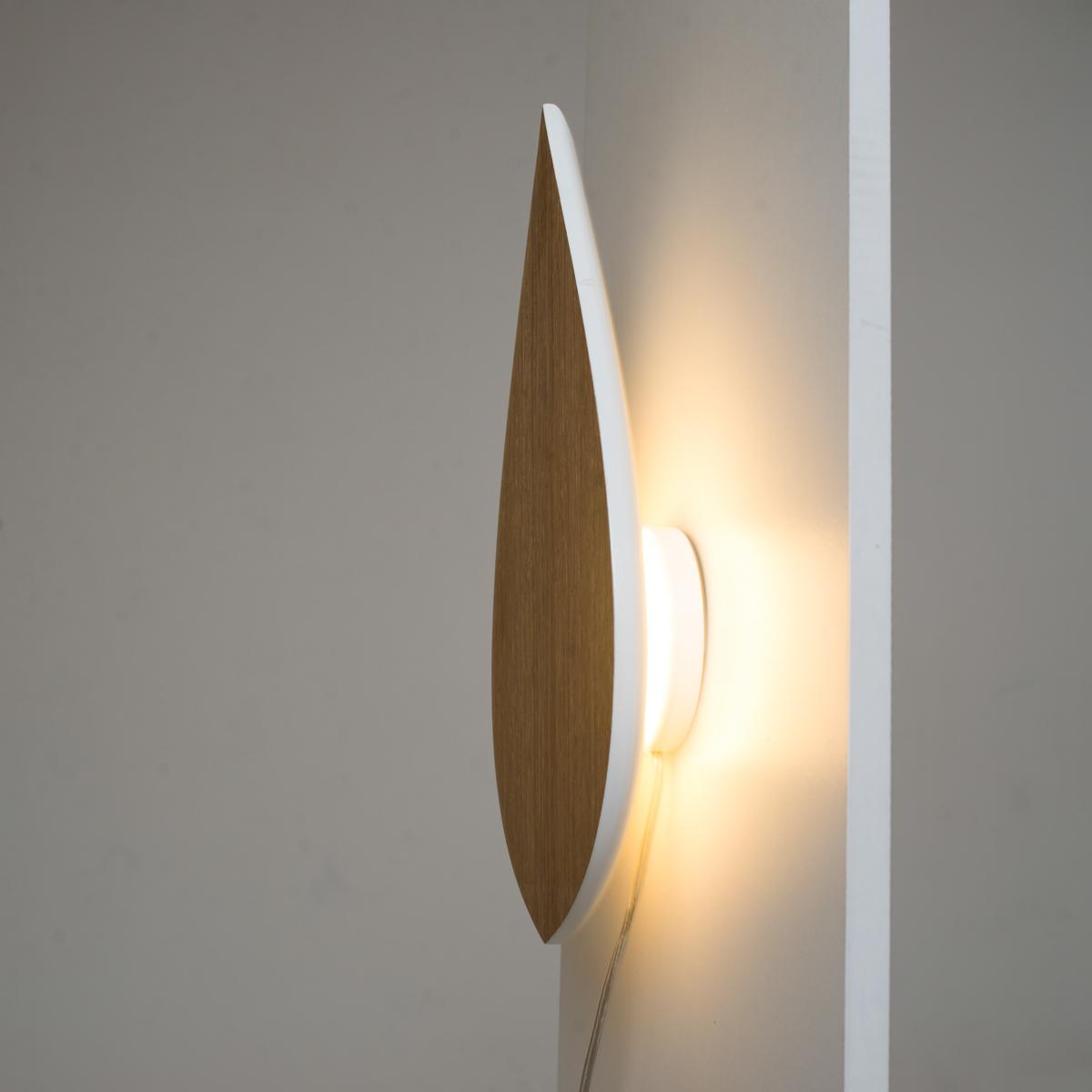 Настенный светильник Woodled Листок