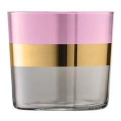 Набор из 2 стаканов Bangle, 310 мл, розовый, фото 2