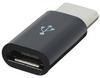 Переходник Micro-USB / Type-C (чёрный)