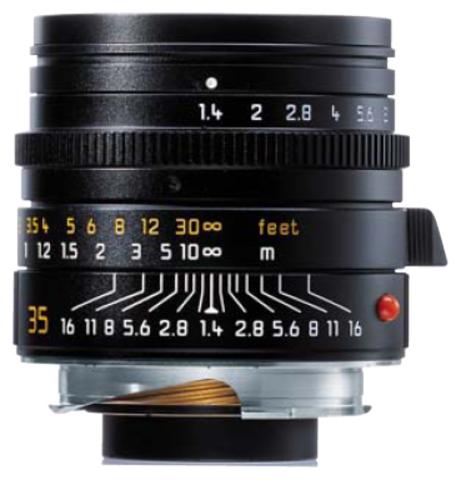 Leica Summilux-M 35mm f/1.4 ASPH Black
