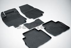 Резиновые коврики для TIIDA, высокий борт
