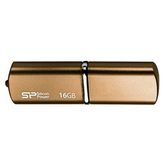 Флеш-память Silicon Power Luxmini 720 16GB bronze