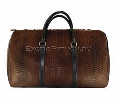 Дорожная сумка из кожи питона BG-230