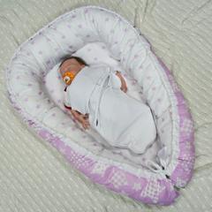 Кокон-Гнездышко для малыша Farla Nest Галактика